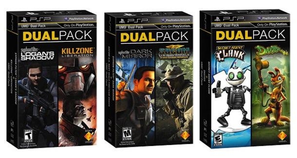 PSP Dual Packs