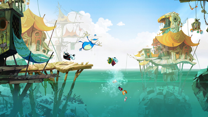 Rayman Origins no Games with Gold