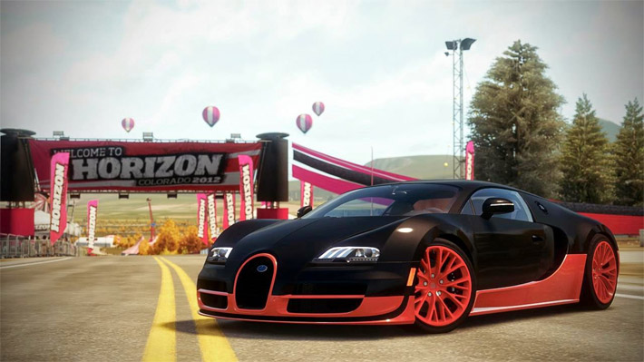 bugatti ss o carro mais r pido de forza horizon. Black Bedroom Furniture Sets. Home Design Ideas