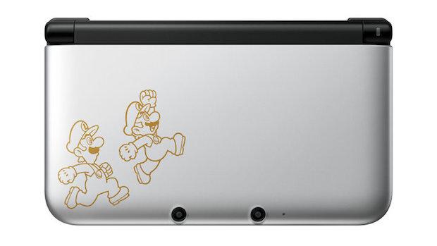3DS XL com Mario e Luigi