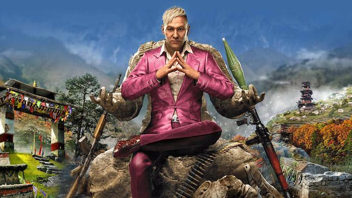 Far Cry 4, um dos jogos preferidos do gamer