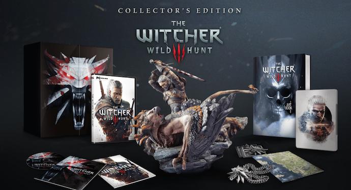 The Witcher 3 - edição de colecionador