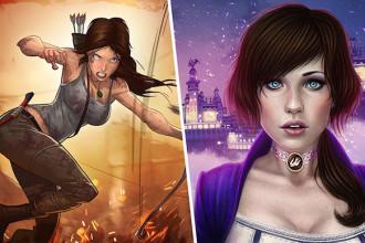 Lara e Elizabeth na Xbox Live