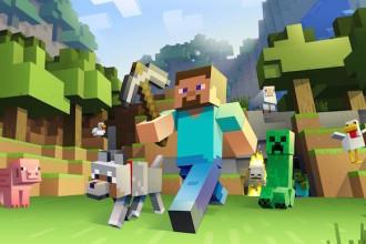 Minecraft e outros jogos mobile