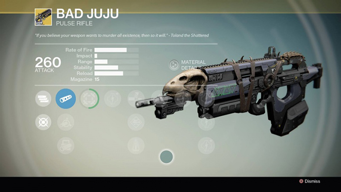 Destiny Vodu do Jacu
