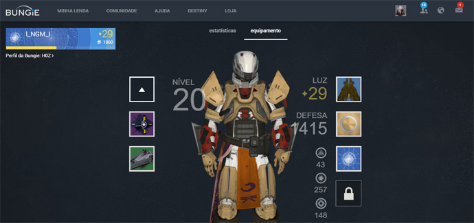Destiny fantasma intrusivo
