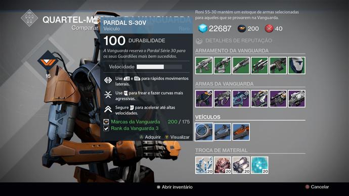 Destiny - Pardal