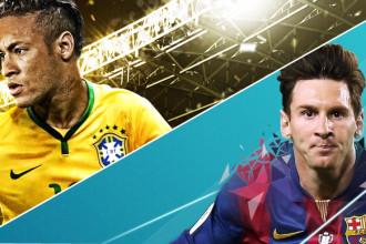 PES vs FIFA - times brasileiros