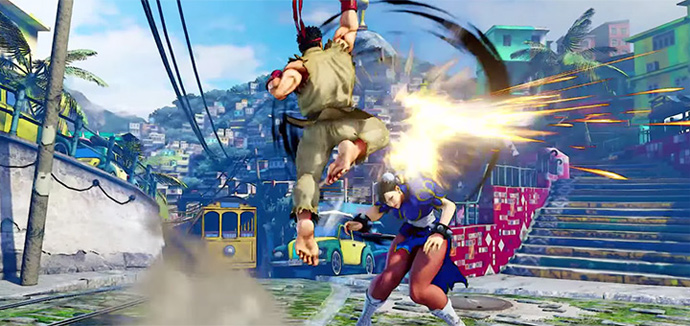 Street Fighter V - Rio