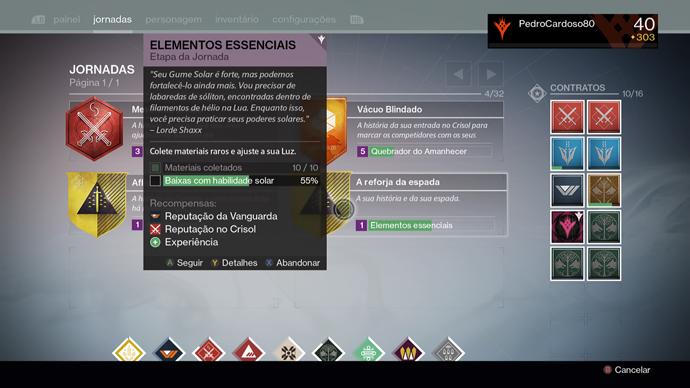 Destiny - espada
