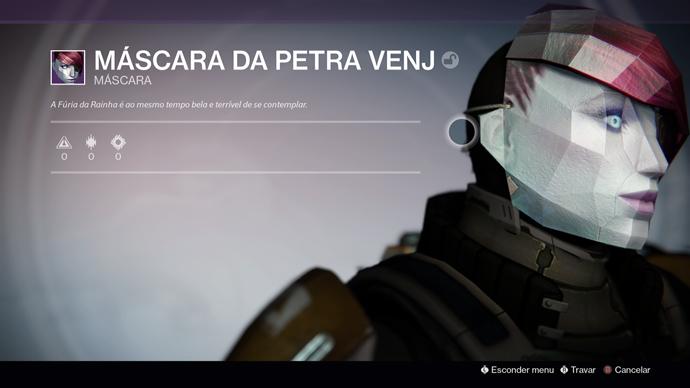 Destiny - máscara