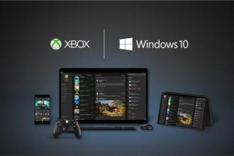 Windows 10 e controle Xbox One