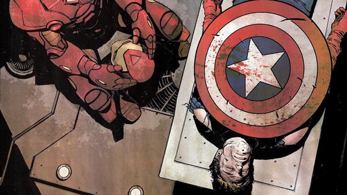 Capitão América morto