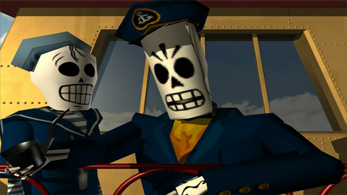 Grim Fandango na PS Plus