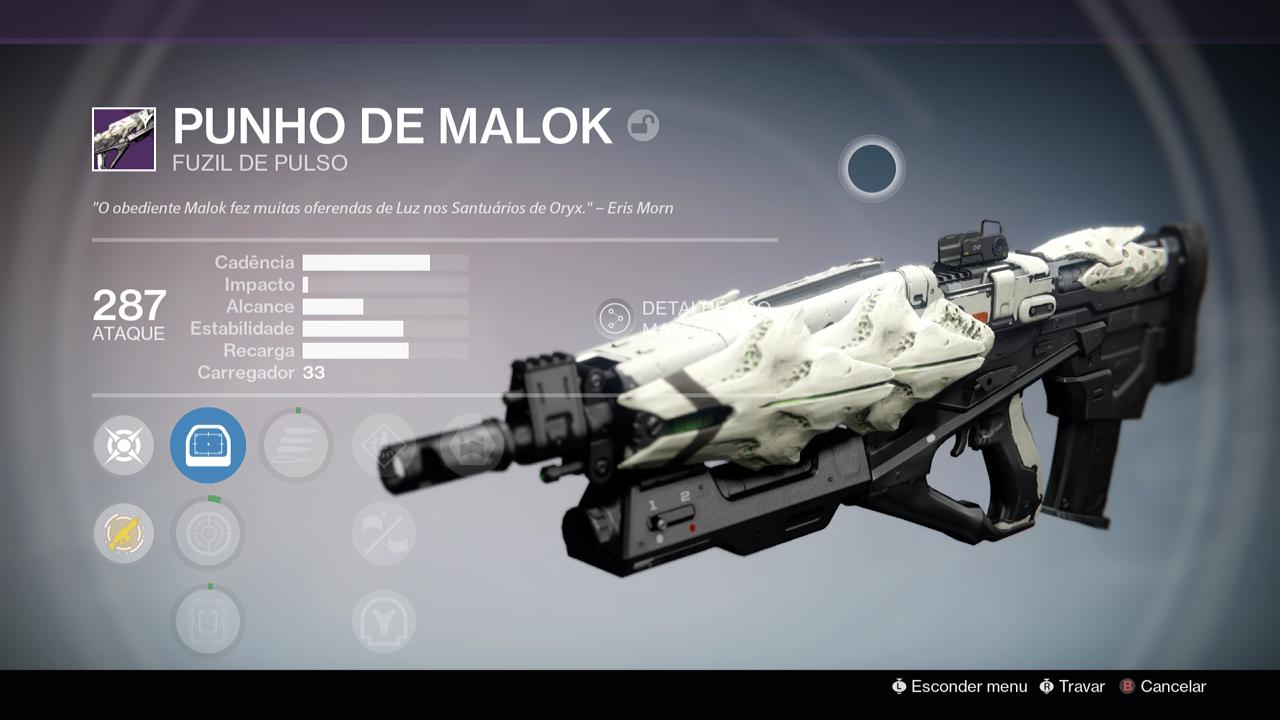 Destiny - Punho de Malok