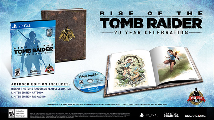 Rise of the Tomb Raider no PS4