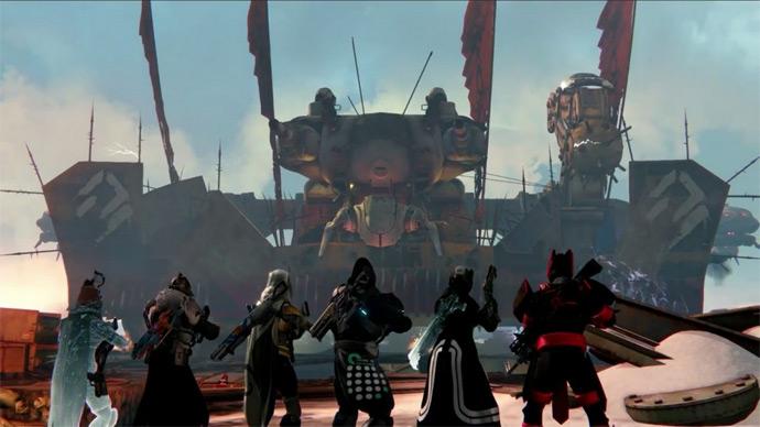 Destiny - nova raid Ira da Máquina