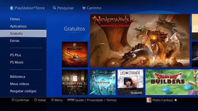 PS4 - jogos gratuitos
