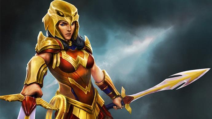 DC Legends com Mulher Maravilha