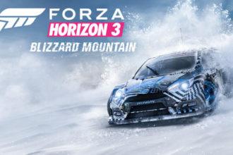 Forza Horizon 3 - Blizzard Mountain