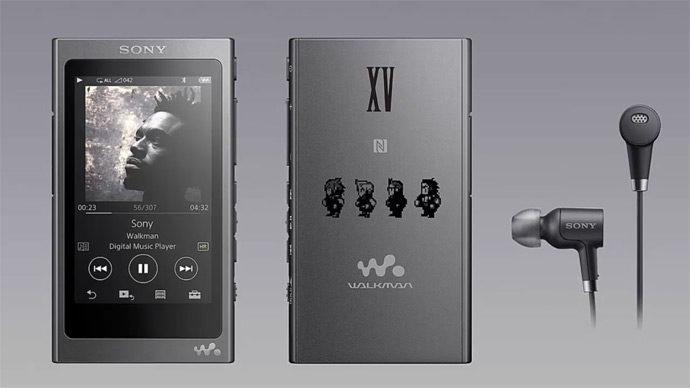 Walkman inspirado em Final Fantasy XV