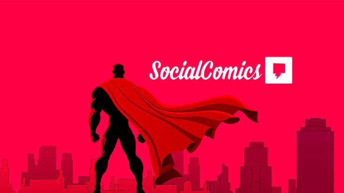 Social Comics na CCXP