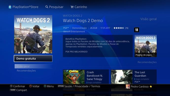 Demo de Watch Dogs 2