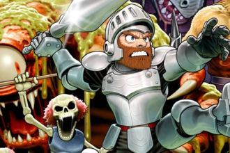 Ghost'n Goblins - clássico da Capcom