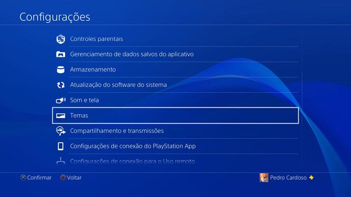 PS4 - papel de parede