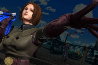 King of Fighters XIV com Whip e outros
