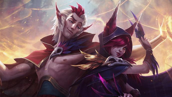 League of Legends- Rakan e Xayah