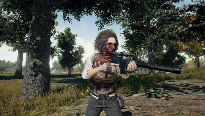 PlayerUnknown's Battlegrounds - rifle VSS