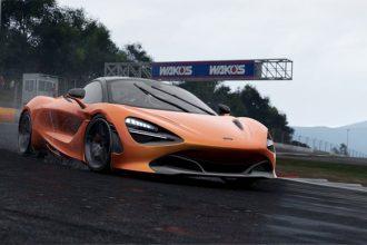 Project Cars 2 com McLaren 720S