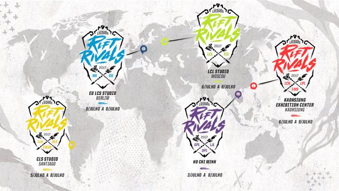 Rift Rivals - mapa