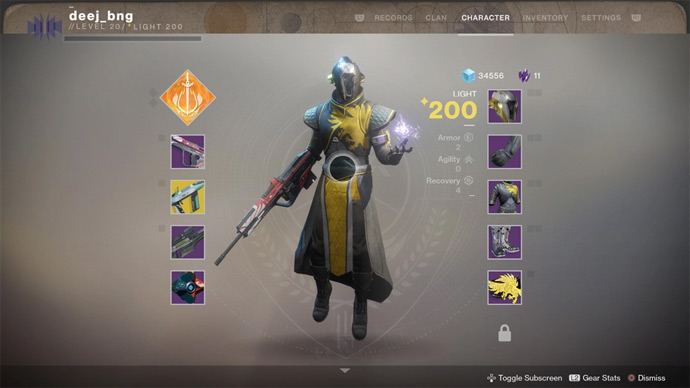Destiny 2 - emblemas