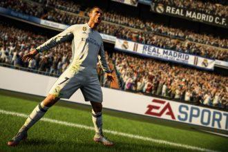 FIFA 18 com Cristiano Ronaldo