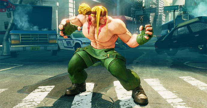Street Fighter 5- Alex