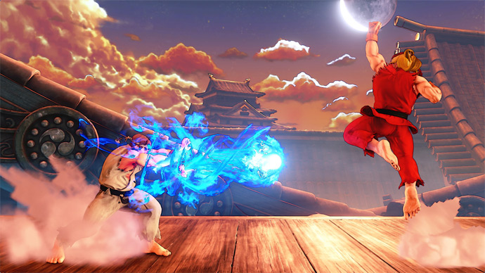 Street Fighter 5 - fase do Ryu