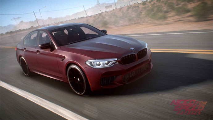 BMW M5 2018 em NFS Payback