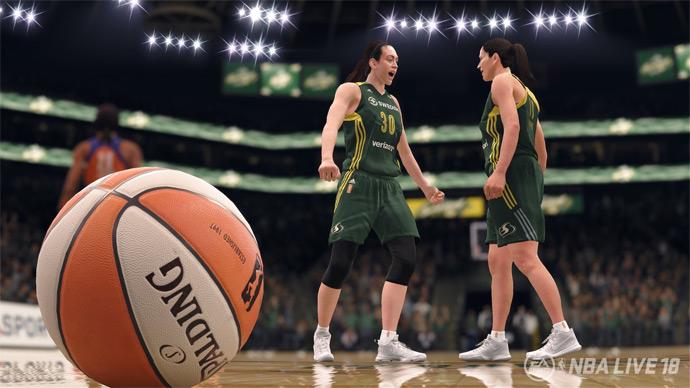 NBA Live 18 com WNBA