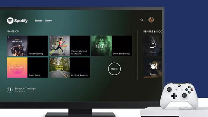 Spotify no Xbox One