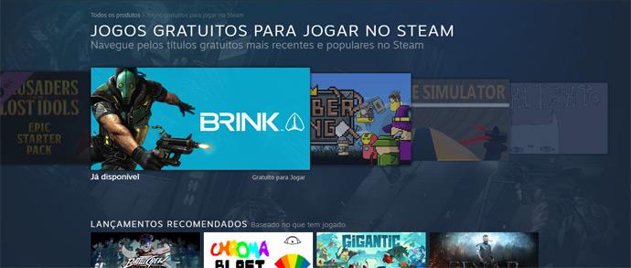 Jogos gratuitos do Steam
