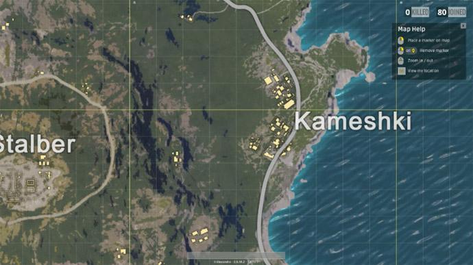 Battlegrounds - cidade Kameshki