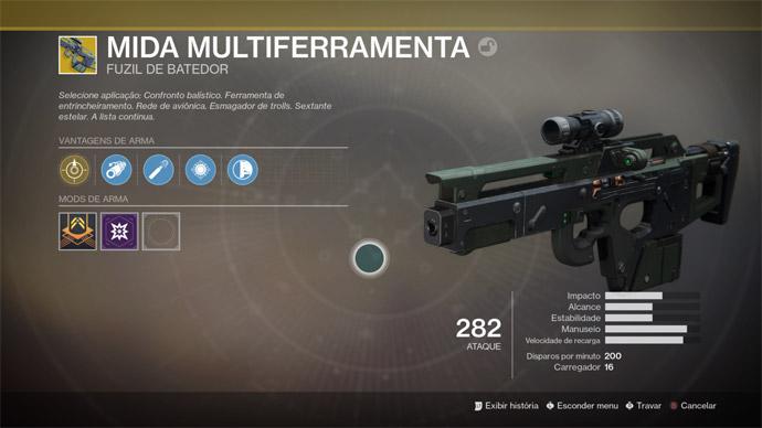 Destiny 2 - Mida Multiferramenta
