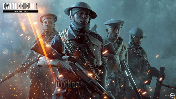 Battlefield 1: expansão Turning Tide