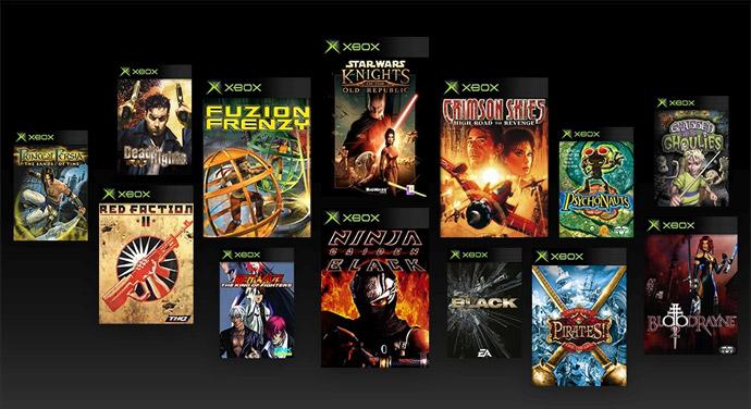 Jogos do Xbox original