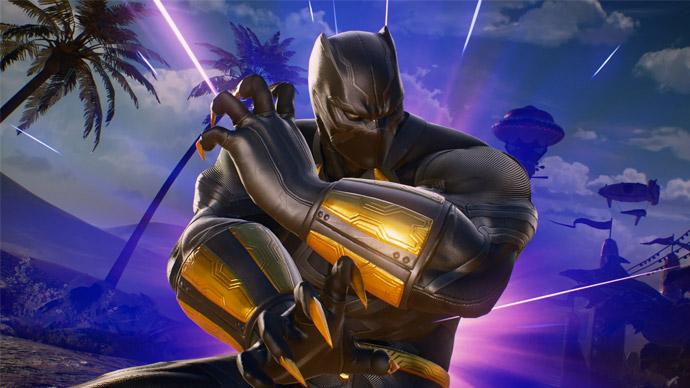 Marvel vs Capcom Infinite com Pantera Negra