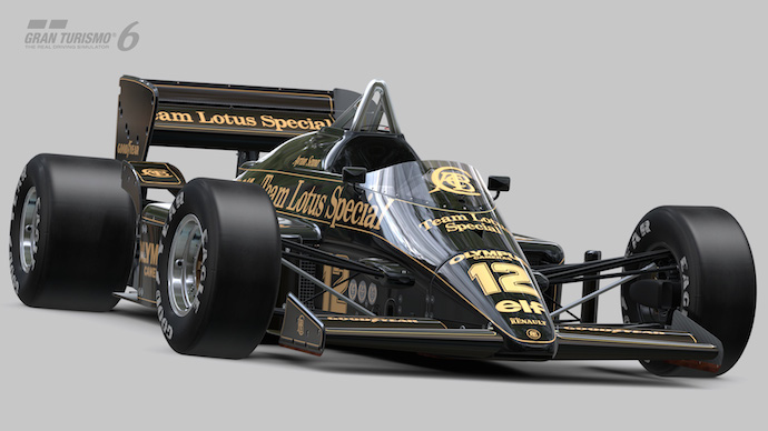 Gran Turismo 6 - Lotus do Ayrton Senna