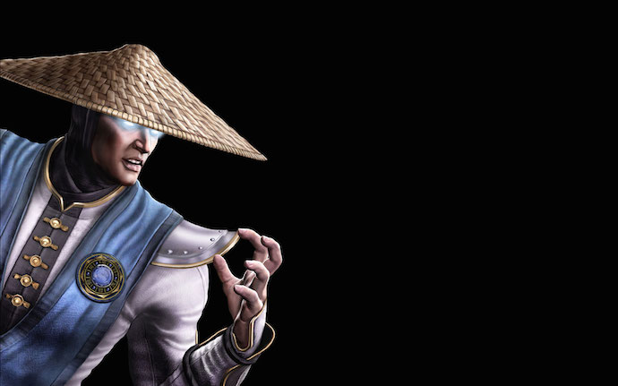 Raiden do Mortal Kombat X