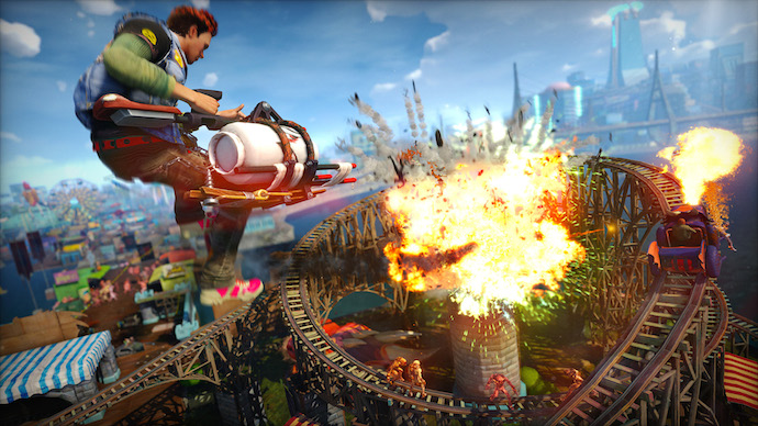 Games with Gold com Sunset Overdrive